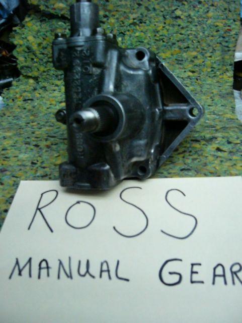 Ross Manual Steering Gear 1