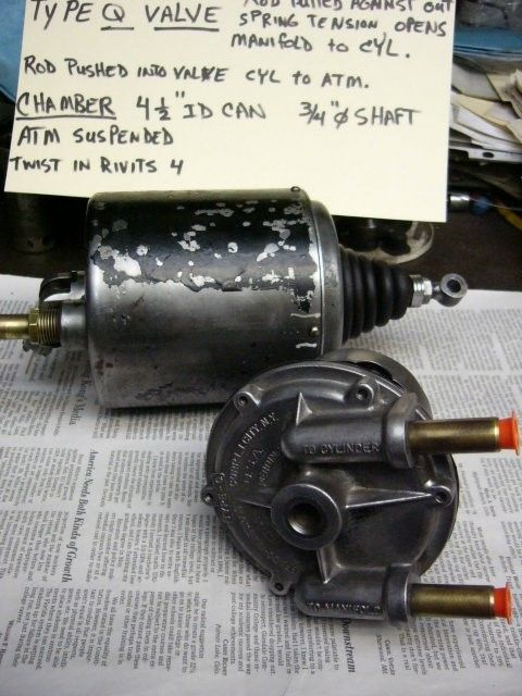 B-K Lincoln Chamber and Valve