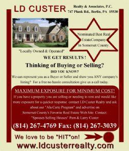 LD Custer Realty & Associates P.C.