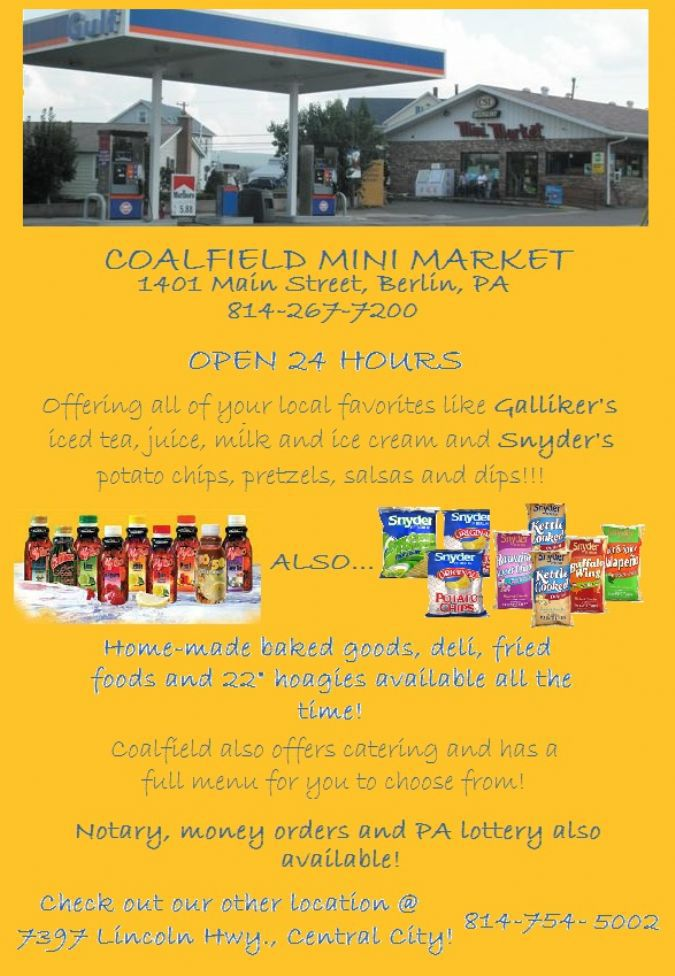 Coalfield Mini Market