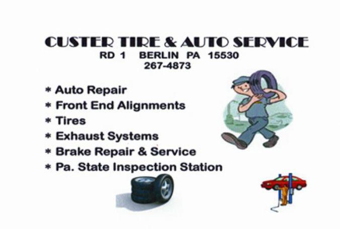 Custer Tire & Auto Service