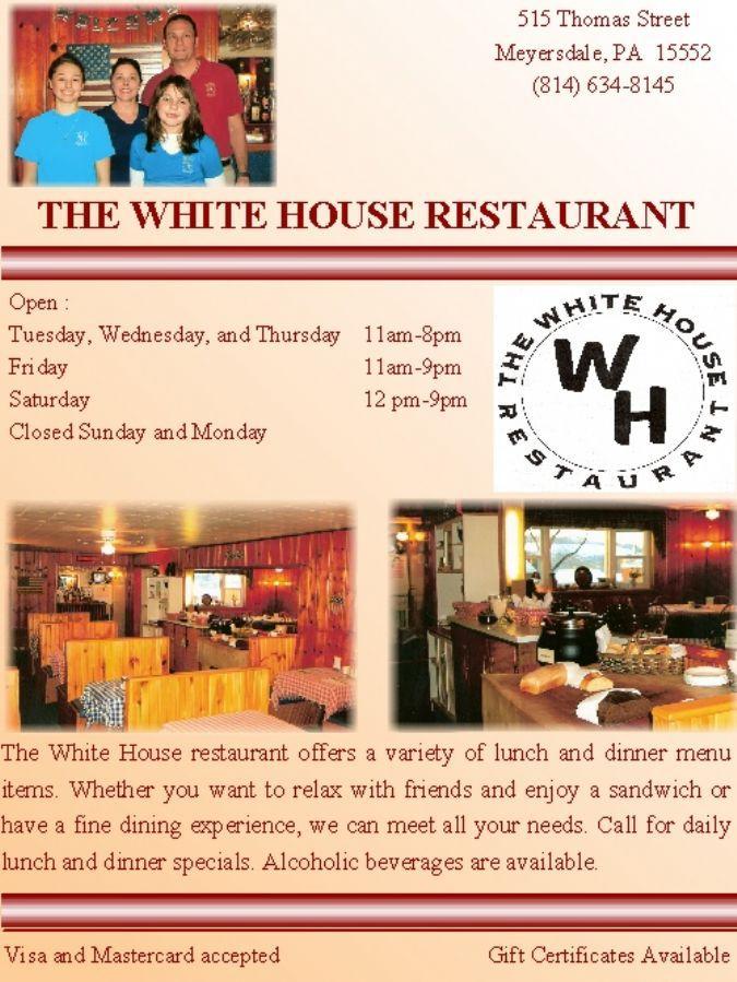 Whitehouse Restaurant