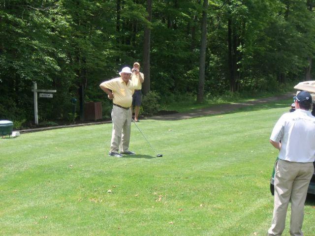 Arnold Palmer @ Indian Lake Golf Club 6-15-12