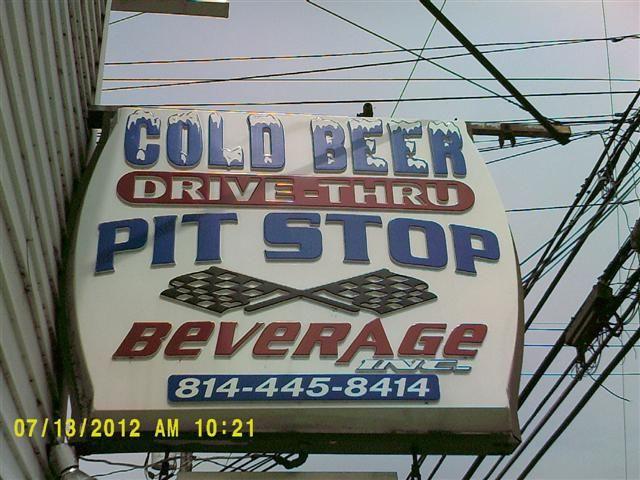 Pit Stop Beverage