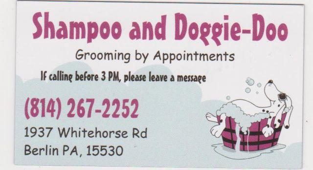 Shampoo and Doggie-Doo