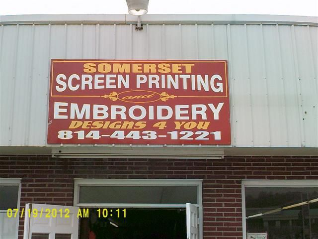 Somerset Screen Printing & Embroidery