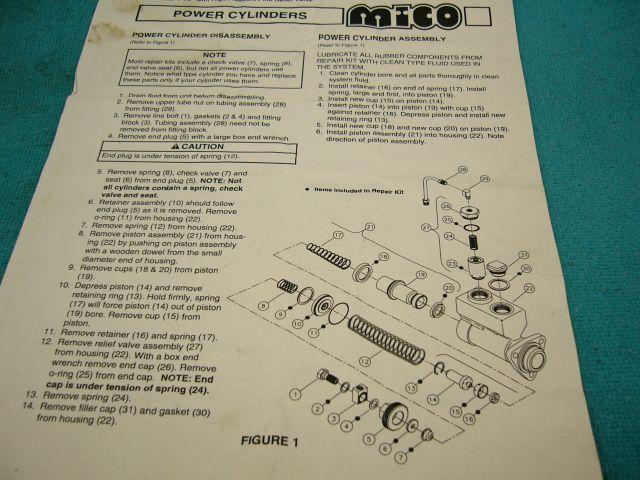 Mico Master Cylinder 1