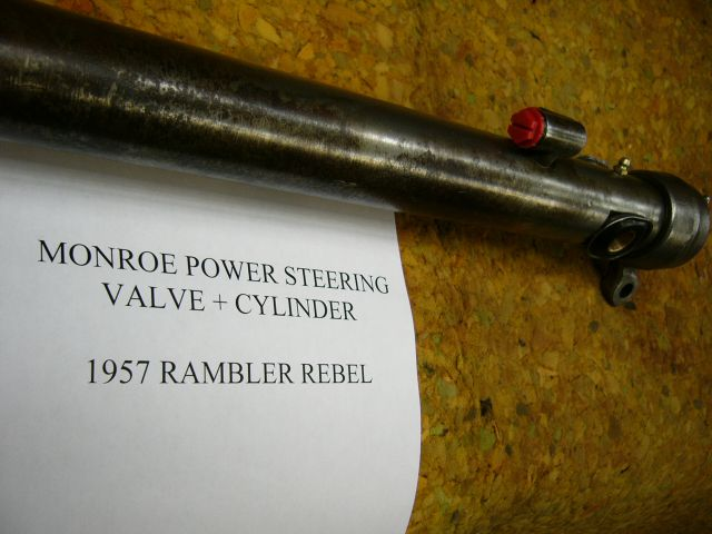 Monroe Power Steering Valve-Cylinder 1957 Rambler Rebel